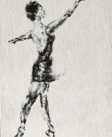 impressionist painting ballet dancer