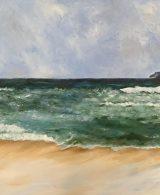 impressionist seascape painting commission